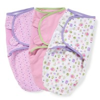 SUMMER INFANT КОМПЛЕКТ ПЕЛЕНОК-КОНВЕРТОВ SWADDLE ME ПТИЧКИ